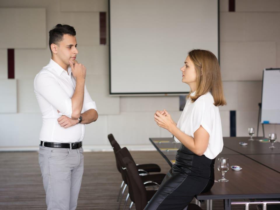 bariera w rozmowie