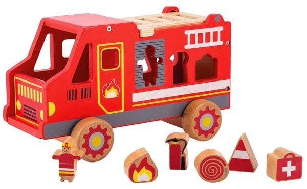 zabawka wóz strażacki