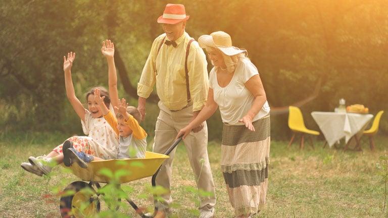 dziadkowie nie są odpowiedzialni zawychowanie